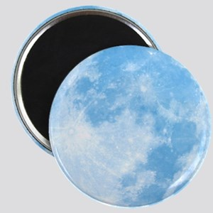Blue Full Moon Magnet