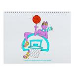 Ok-9 Inspiration (basketball) Wall Calendar