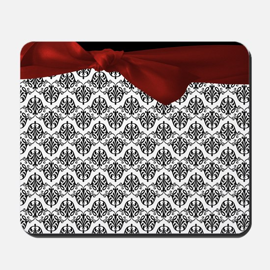 Decorative Damask Mousepad