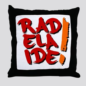 rAdelaide tee shirts Throw Pillow
