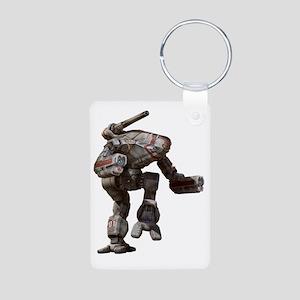 Marauder Aluminum Photo Keychain
