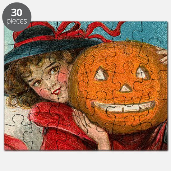 Halloween Girl Puzzle