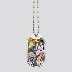 Nouveau Art Dog Tags