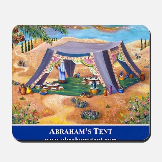 Abrahams Tent Logo Mousepad