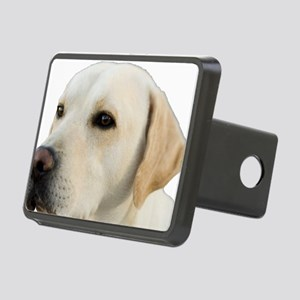 Yellow Lab Head Rectangular Hitch Cover