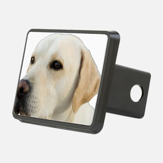 Yellow Lab Head Hitch Cover