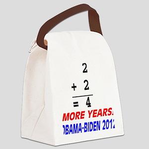 Arithmetic matters Canvas Lunch Bag