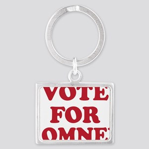 Vote For Romney Landscape Keychain