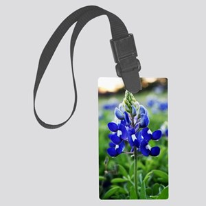 Lonestar Bluebonnet Large Luggage Tag