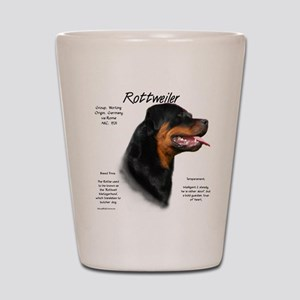 Rottweiler Shot Glass