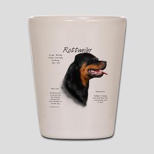 Rottweiler Shot Glass