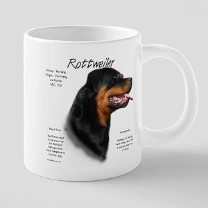 Rottweiler 20 oz Ceramic Mega Mug