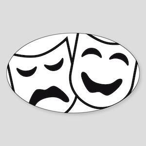 theatre Sticker (Oval)