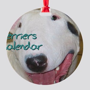 Terriers CALENDAR Round Ornament