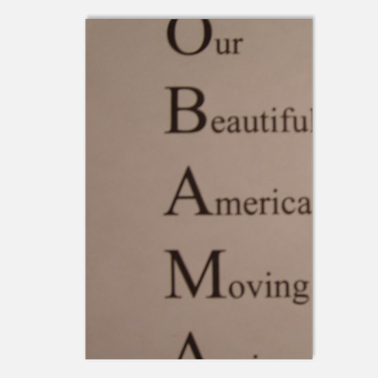 Barack Obama - Our Beauti Postcards (Package of 8)