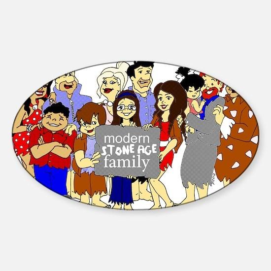 ModernStoneageFamily Sticker (Oval)