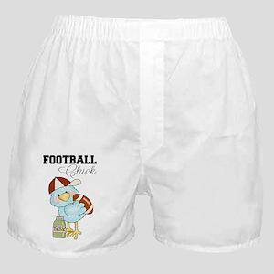 Tweeting Football Chick Boxer Shorts