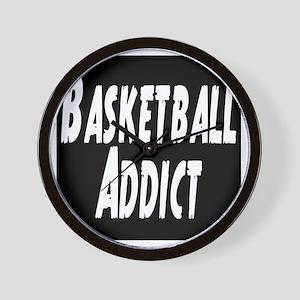 Basketball Addict Wall Clock