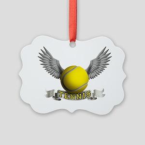 tennis Picture Ornament