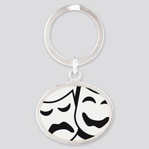 theatre Oval Keychain