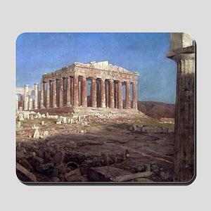 Frederic Edwin Church The Parthenon Mousepad