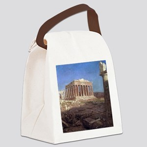 Frederic Edwin Church The Parthen Canvas Lunch Bag
