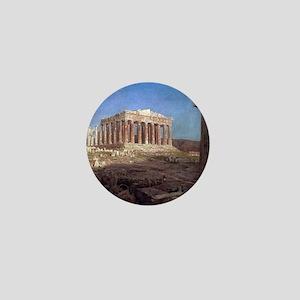 Frederic Edwin Church The Parthenon Mini Button
