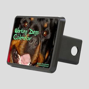 Working Dogs CALENDAR Rectangular Hitch Cover