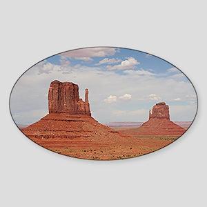 Monument Valley, Utah Sticker (Oval)