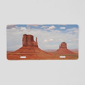 Monument Valley, Utah Aluminum License Plate