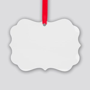 Blank Picture Ornament