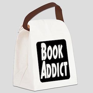 Book Addict Canvas Lunch Bag