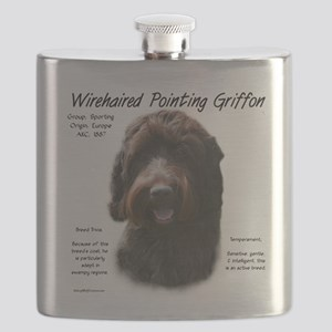 Wirehaired Pointing Griffon Flask