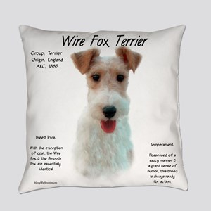 Wire Fox Terrier Everyday Pillow