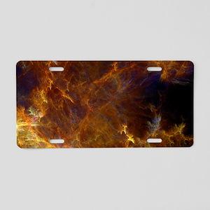 Inf_clutch_bag Aluminum License Plate