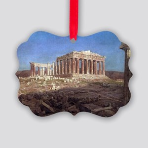 The Parthenon by Frederic Edwin C Picture Ornament