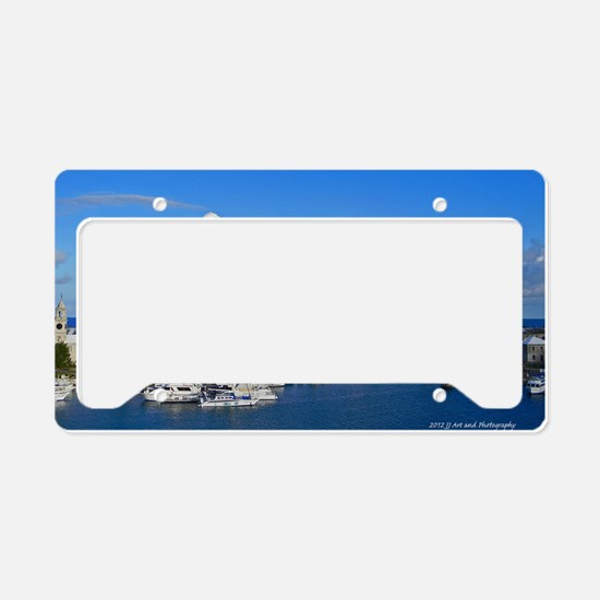 Royal Naval Dockyard License Plate Holder