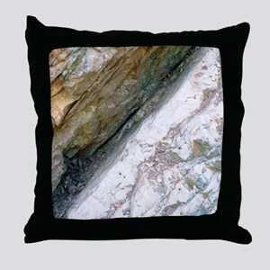 K/T boundary layer Throw Pillow