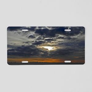 Bermuda Sunrise Aluminum License Plate