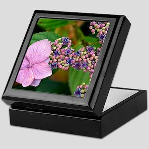 Lacecap Hydrangea Keepsake Box