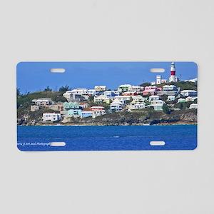 St Davids Lighthouse Aluminum License Plate