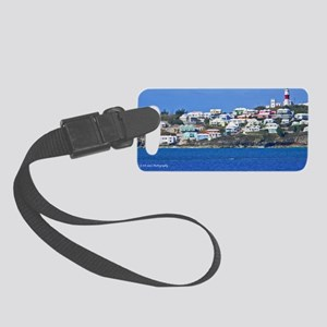 St Davids Lighthouse Small Luggage Tag