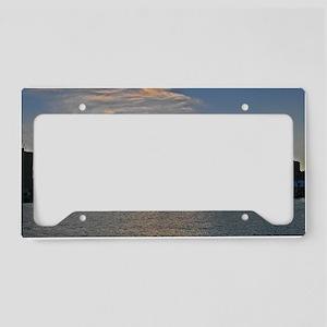 Sunset Royal Naval Dockyard License Plate Holder