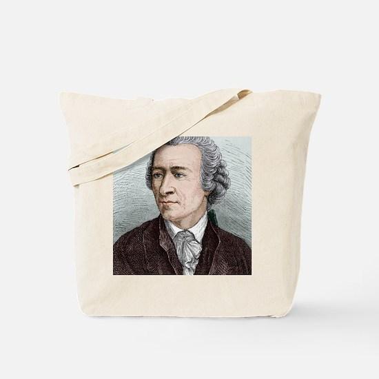 Leonhard Euler, Swiss mathematician Tote Bag