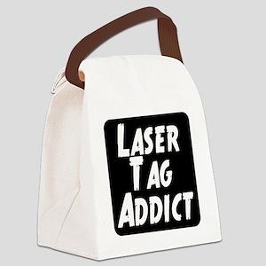 Laser Tag Addict Canvas Lunch Bag