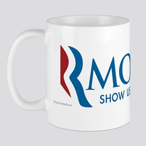 RMONEY - Show us the Taxes! Mug