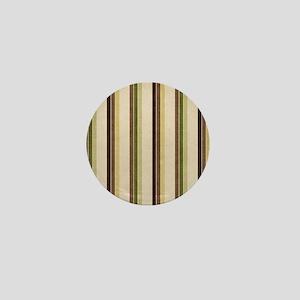 Natures Stripes Mini Button