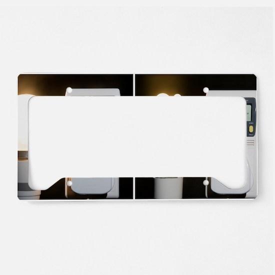 Light bulb energy consumption License Plate Holder