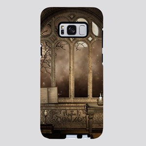 Gothic Library Window Samsung Galaxy S8 Plus Case