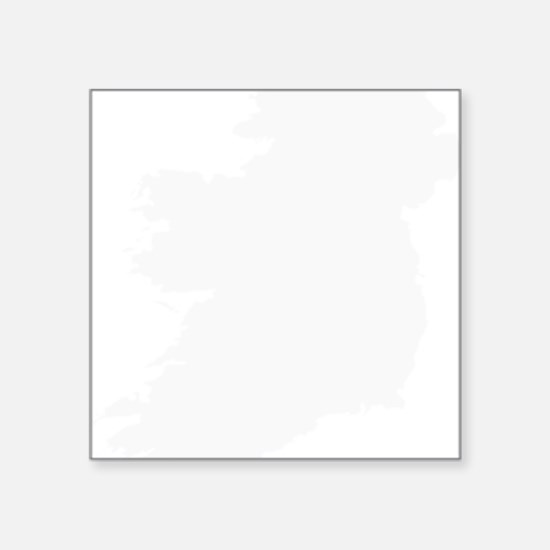 "Ireland Square Sticker 3"" x 3"""